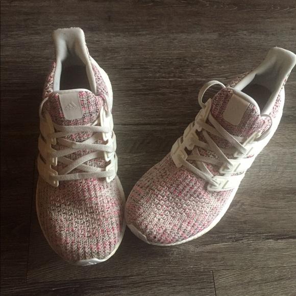 Adidas Womens Ultra Boost 4 Pink Static